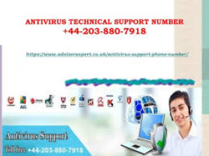 +44 203 880 7918 Antivirus Tech Support Phone Number